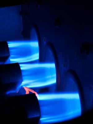 φλόγα Φυσικού Αερίου